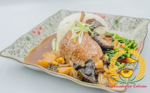 14. Stewed duck Maryland