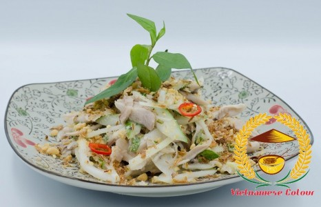 4. Shredded chicken salad